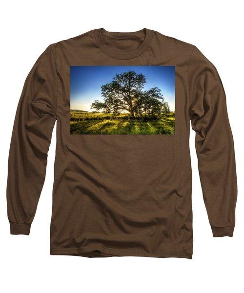 Sunset Oak Long Sleeve T-Shirt