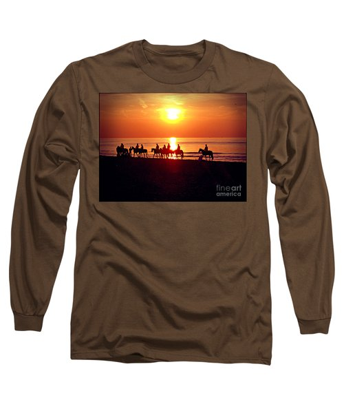 Sunset Past Time Long Sleeve T-Shirt