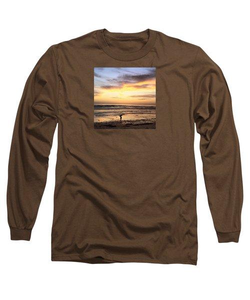 Sunset Surfer Long Sleeve T-Shirt