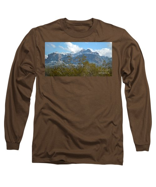 Superstition New Years Day Long Sleeve T-Shirt by Pamela Walrath