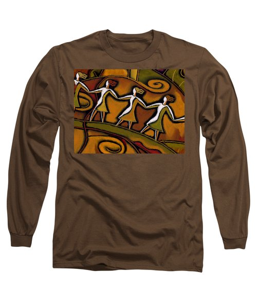 Support Long Sleeve T-Shirt by Leon Zernitsky