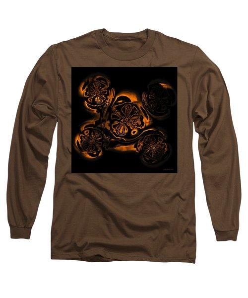 Long Sleeve T-Shirt featuring the digital art Suranan Artifact by Judi Suni Hall