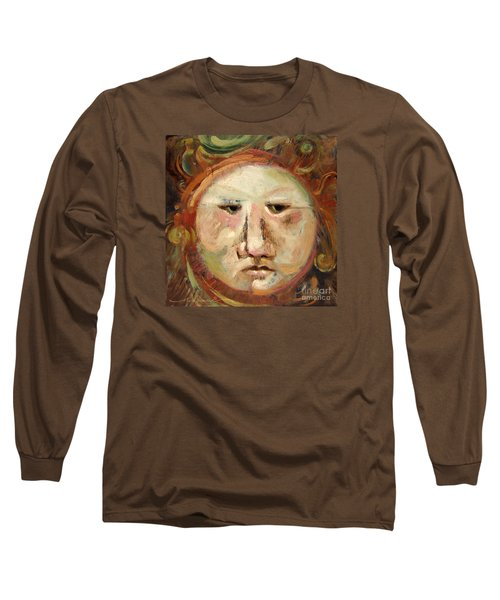 Suspicious Moonface Long Sleeve T-Shirt