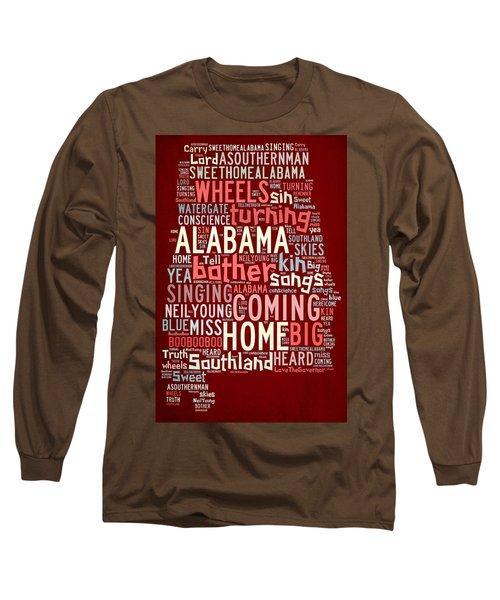 Sweet Home Alabama 4 Long Sleeve T-Shirt