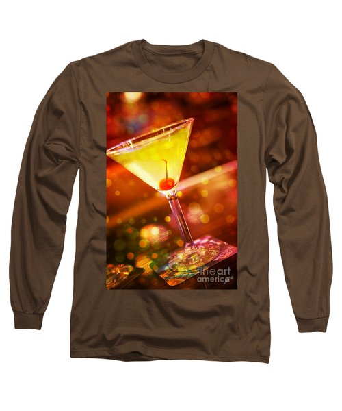Sweet Martini  Long Sleeve T-Shirt by Erika Weber