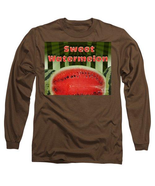Sweet Watermelon Long Sleeve T-Shirt