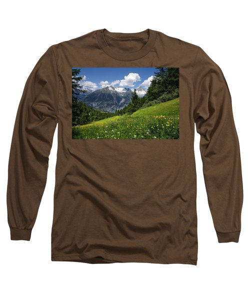 Switzerland Bietschhorn Long Sleeve T-Shirt