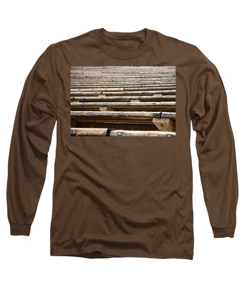 Take A Seat Long Sleeve T-Shirt by Charlie Brock