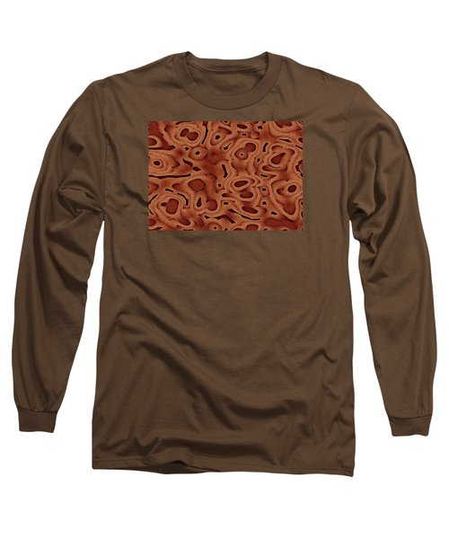Long Sleeve T-Shirt featuring the digital art Tapma by Jeff Iverson