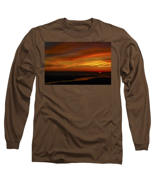Rappahannock Sunrise II Long Sleeve T-Shirt by Greg Reed