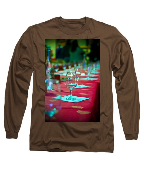 Tasting In Red Long Sleeve T-Shirt