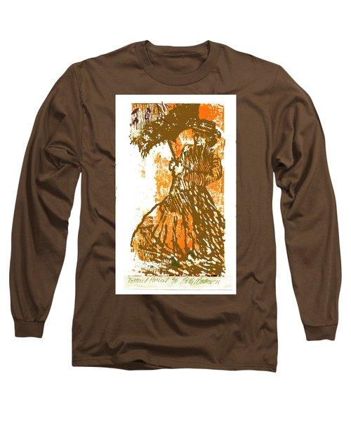 Tattered Parasol Long Sleeve T-Shirt by Seth Weaver