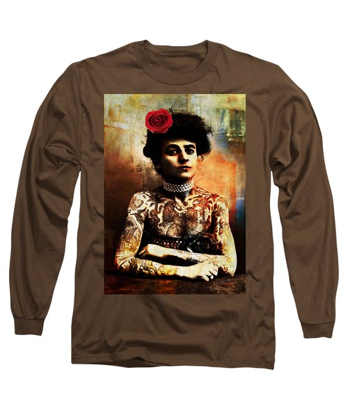 Tattoo Lady Long Sleeve T-Shirt