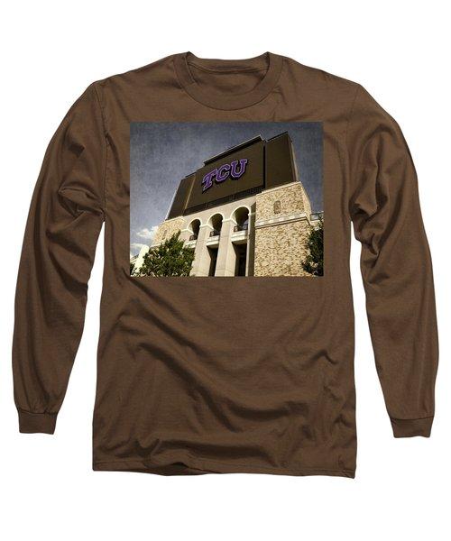 Tcu Stadium Entrance Long Sleeve T-Shirt