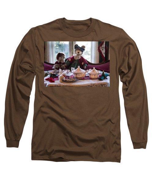 Teddy Bear Tea Party Long Sleeve T-Shirt