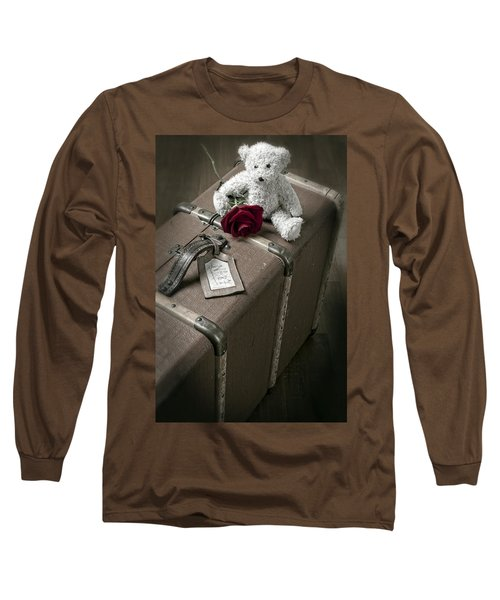 Teddy Wants To Travel Long Sleeve T-Shirt
