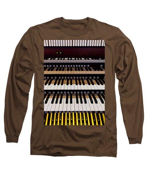 Teeth Of An Instrument Long Sleeve T-Shirt