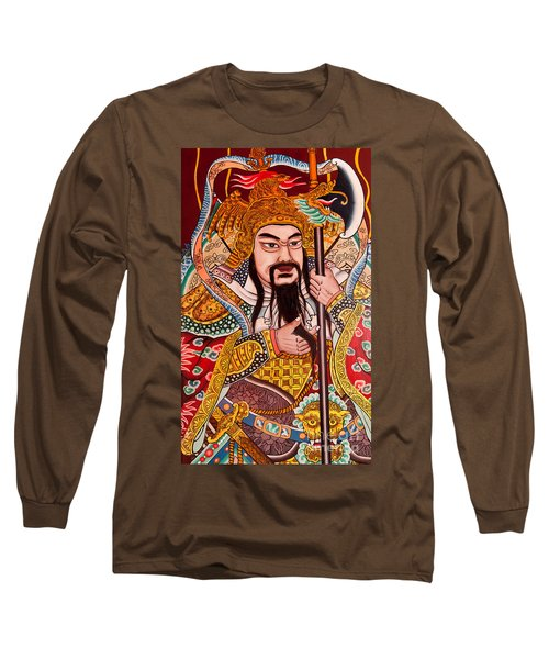 Temple Door 03 Long Sleeve T-Shirt