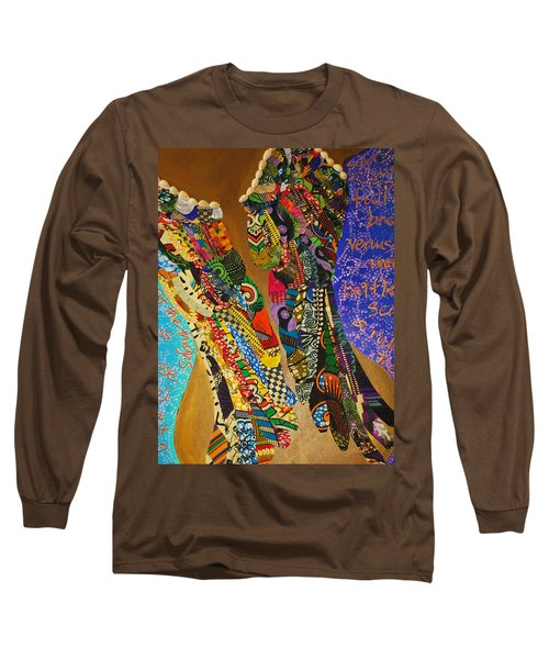 Temple Of The Goddess Eye Vol 1 Long Sleeve T-Shirt by Apanaki Temitayo M