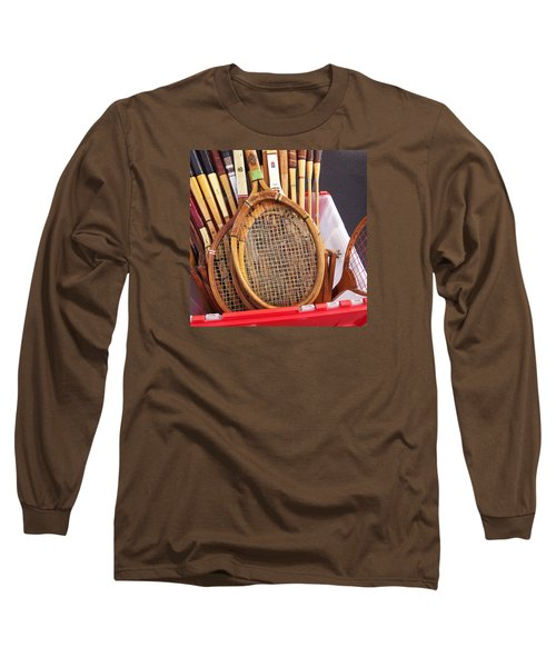 Tennis Anyone Long Sleeve T-Shirt by Art Block Collections