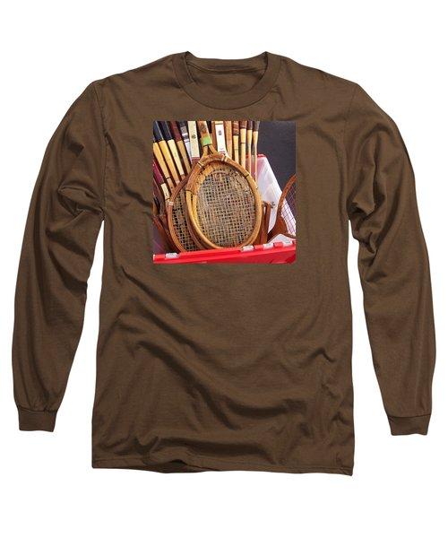 Tennis Anyone Long Sleeve T-Shirt