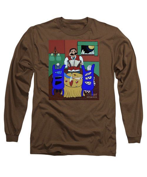 Long Sleeve T-Shirt featuring the painting The Anniversary by Barbara McMahon