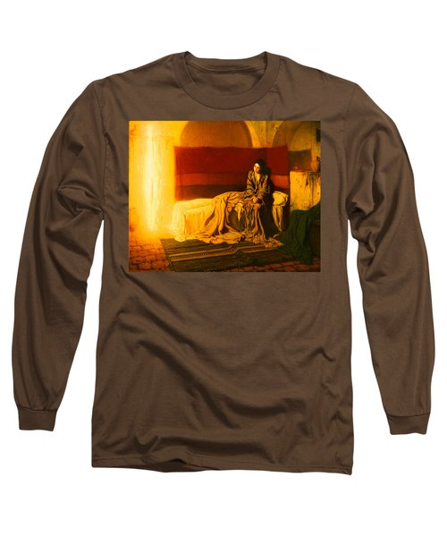 The Annunciation Long Sleeve T-Shirt by Mountain Dreams
