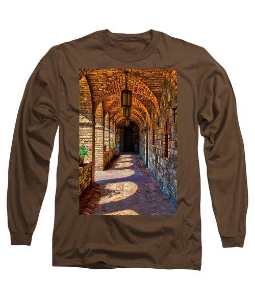 The Arches Long Sleeve T-Shirt by Richard J Cassato