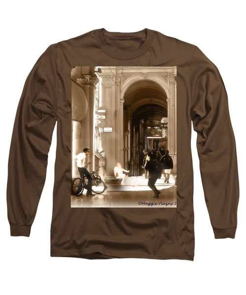 The Art Of Love Italian Style Long Sleeve T-Shirt
