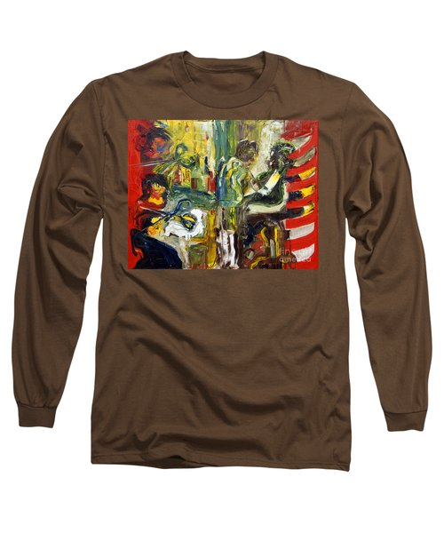 The Barbers Shop - 1 Long Sleeve T-Shirt