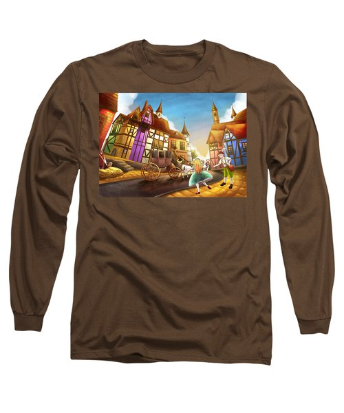 The Bavarian Village Long Sleeve T-Shirt by Reynold Jay