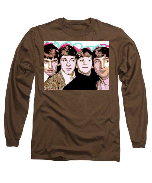The Beatles Love Long Sleeve T-Shirt