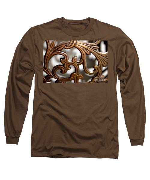 The Beauty Of Brass Scrolls 1 Long Sleeve T-Shirt