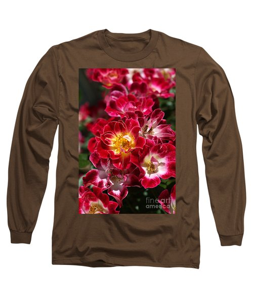 The Beauty Of Carpet Roses  Long Sleeve T-Shirt