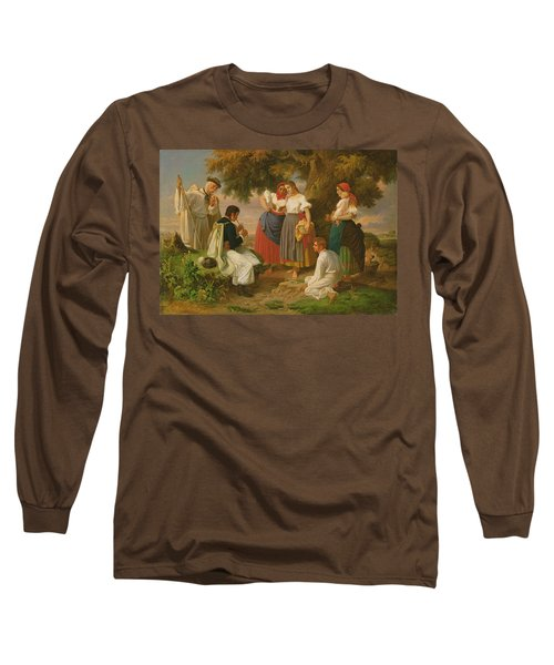 The Birth Of The Folk-song Long Sleeve T-Shirt