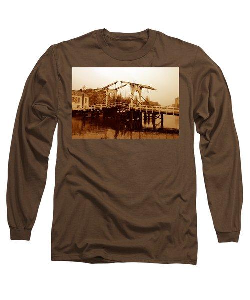 The Bridge Long Sleeve T-Shirt by Menachem Ganon
