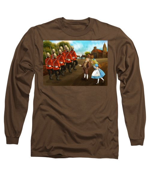 The British Soldiers Long Sleeve T-Shirt by Reynold Jay