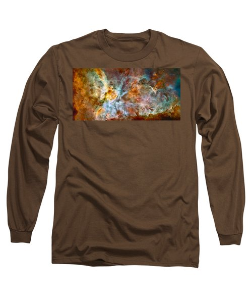 The Carina Nebula - Star Birth In The Extreme Long Sleeve T-Shirt