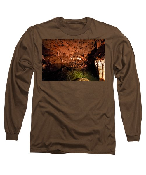 The Cave Long Sleeve T-Shirt by Bill Howard