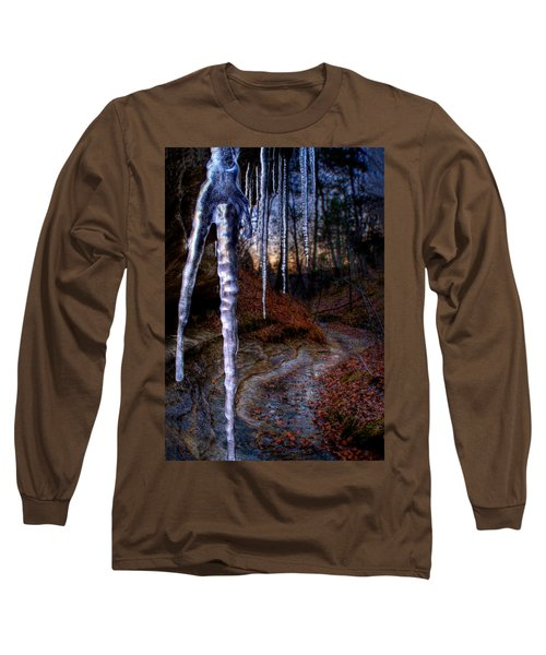 The Cave Of The Crystal Daggers Long Sleeve T-Shirt