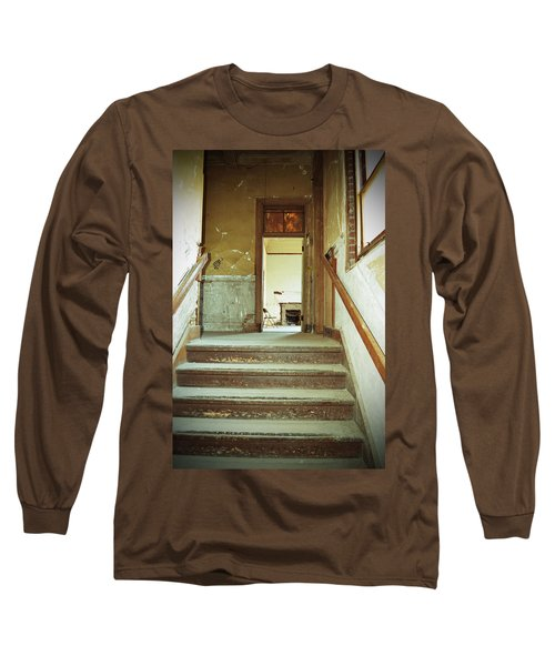 The Chair At The Top Of The Stairs Long Sleeve T-Shirt