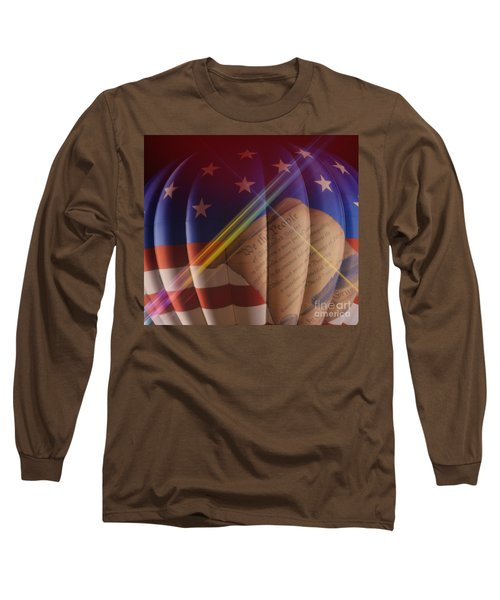The Constitution Long Sleeve T-Shirt by Janice Spivey