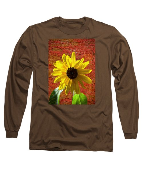 The Contrast Of Time Long Sleeve T-Shirt by Sandi OReilly