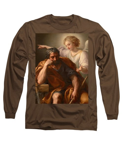 The Dream Of St Joseph Long Sleeve T-Shirt
