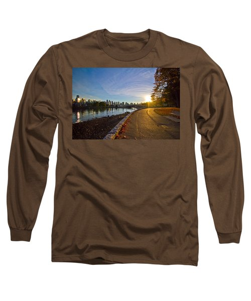 Long Sleeve T-Shirt featuring the photograph The Emerald City by Eti Reid