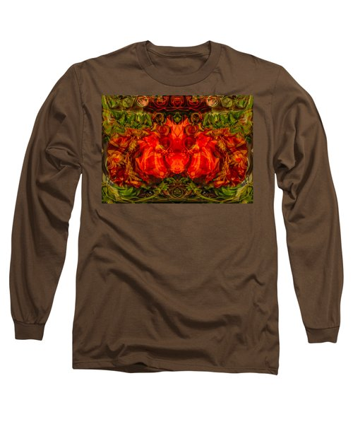 Long Sleeve T-Shirt featuring the painting The Fates by Omaste Witkowski