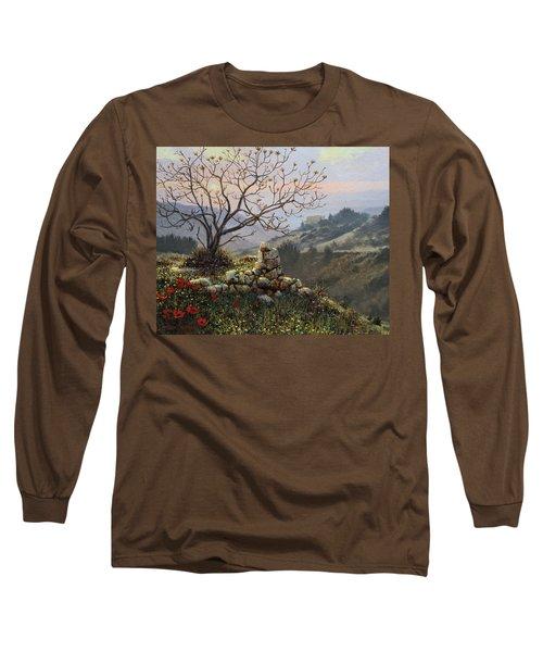 The Fig Tree   Mt Carmel Long Sleeve T-Shirt