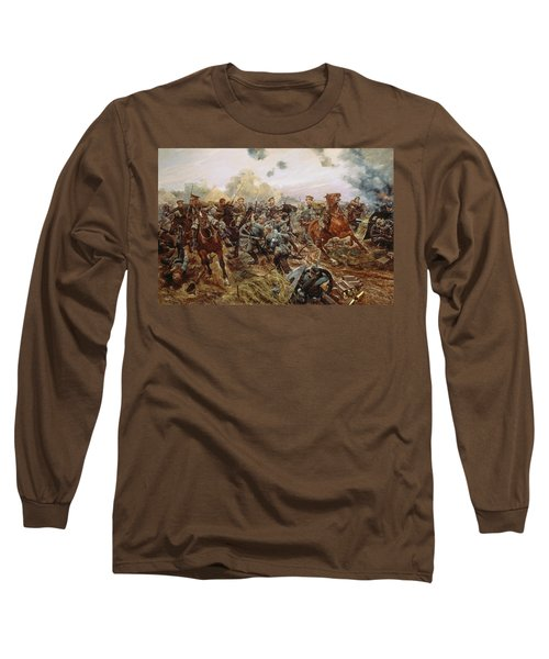 The First Vc Of The European War, 1914 Long Sleeve T-Shirt