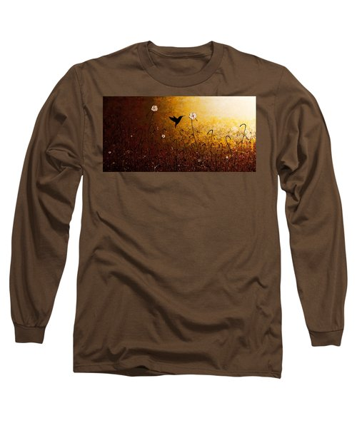 The Flight Of A Hummingbird Long Sleeve T-Shirt