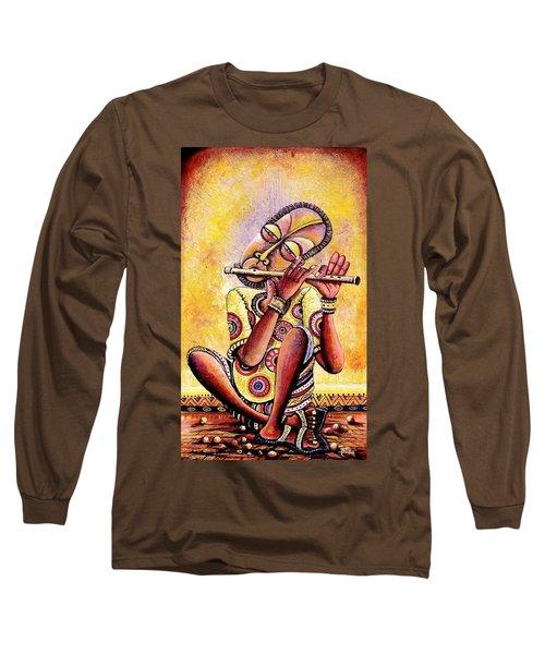 The Flutist Long Sleeve T-Shirt